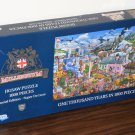 The Millennium 1000 Piece Jigsaw Puzzle Mike Jupp Special Edition England G2000 Gibsons COMPLETE