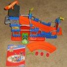 Fisher Price Trio Bricks Sticks Panels V9539 Hot Wheels Super Stunt Builder 93 Parts Complete