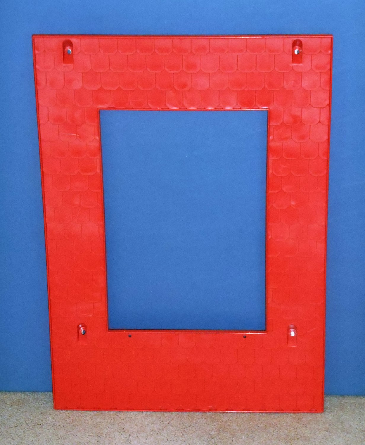 Red Roof Left or Right Side 2588-2089 Barbie A Frame Dream Doll House Dollhouse Replacement Parts