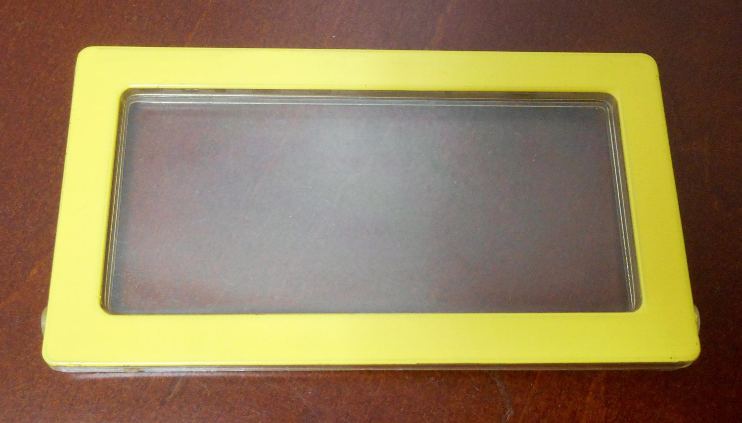 Yellow 3½ x 2 Replacement Window 2588-2339 Barbie A Frame Dream Doll House Dollhouse Parts Mattel