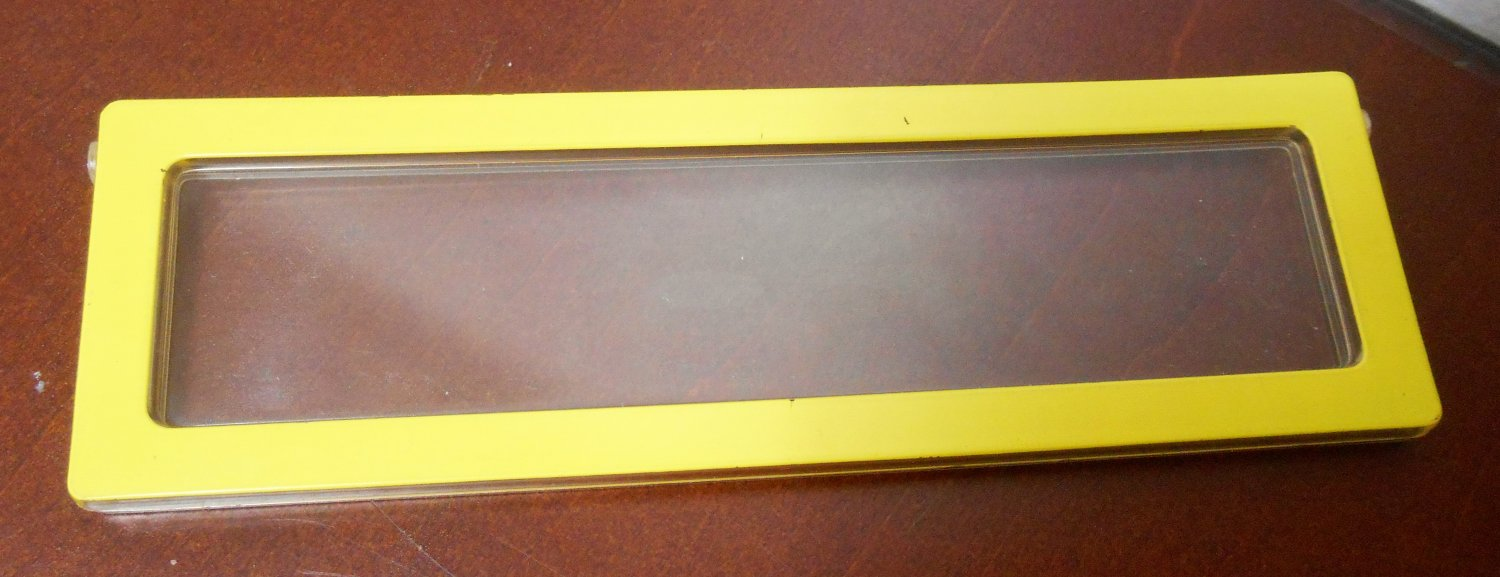 Yellow 5½ x 1 5/8 Replacement Window 2588-2359 Barbie A Frame Dream Doll House Dollhouse Mattel