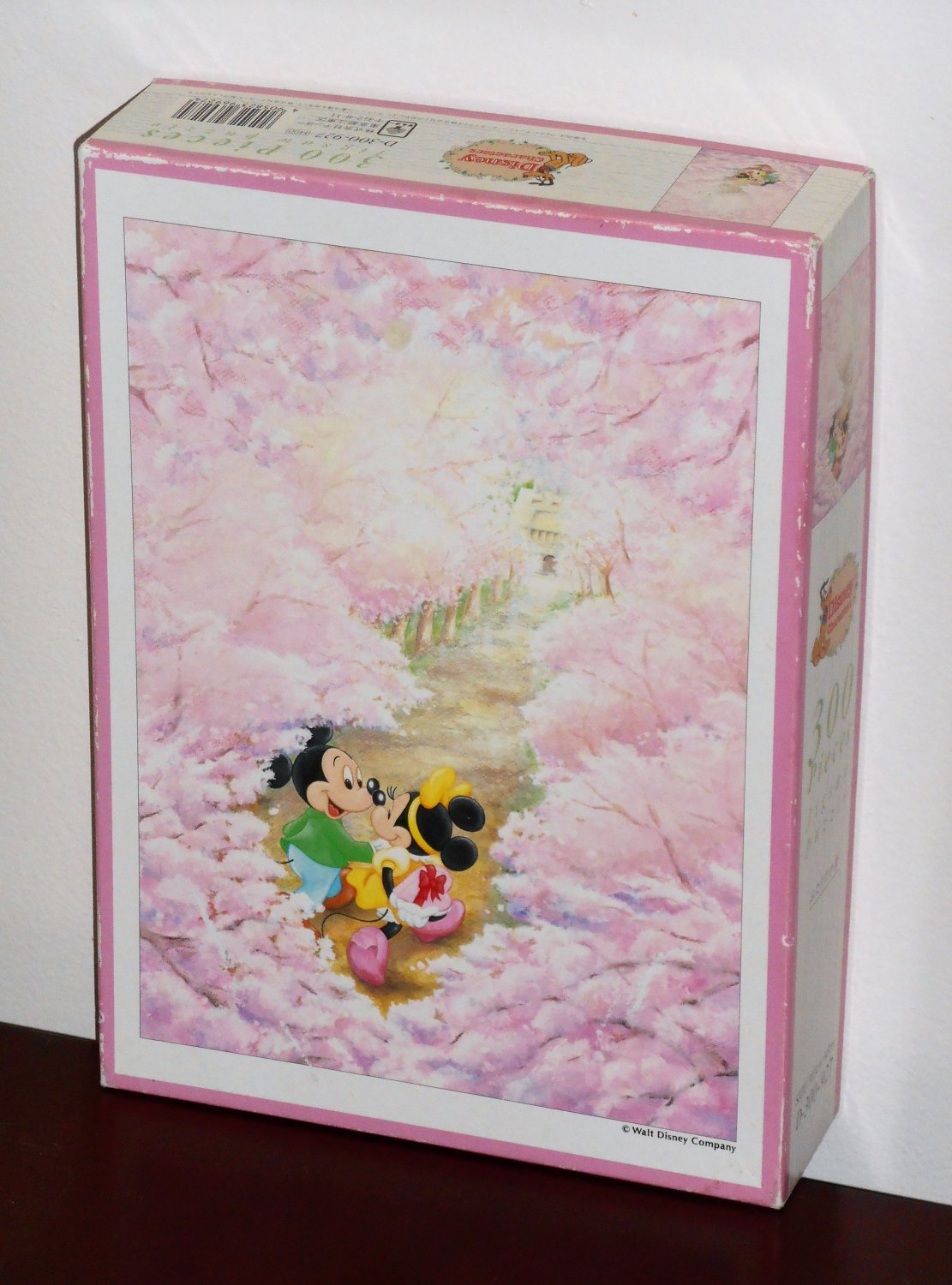 Mickey & Minnie Mouse 300 Piece Jigsaw Puzzle D-300-927 Disney Characters Japan COMPLETE