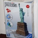 Ravensburger 3D Statue of Liberty 108 Piece Jigsaw Puzzle Plastic 125845 NEW NIB
