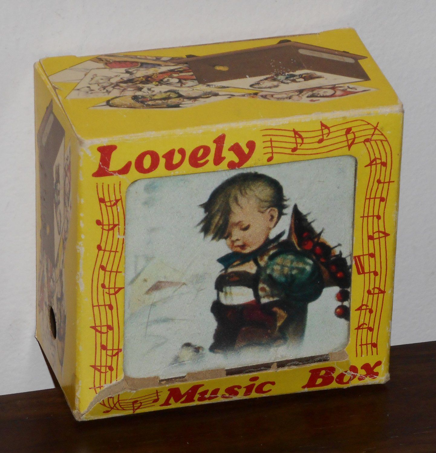 Toyo Wind-Up Music Box Theme From Love Story Windup Musical