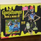 The Goosebumps Book & Boxer Shorts Set Glow-in-the-Dark Special Edition #3 R. L. Stine Scholastic