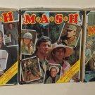 MASH M*A*S*H 4077 4077th 150 Piece Jigsaw Puzzle Lot of 3 Hawkeye BJ Klinger Staff
