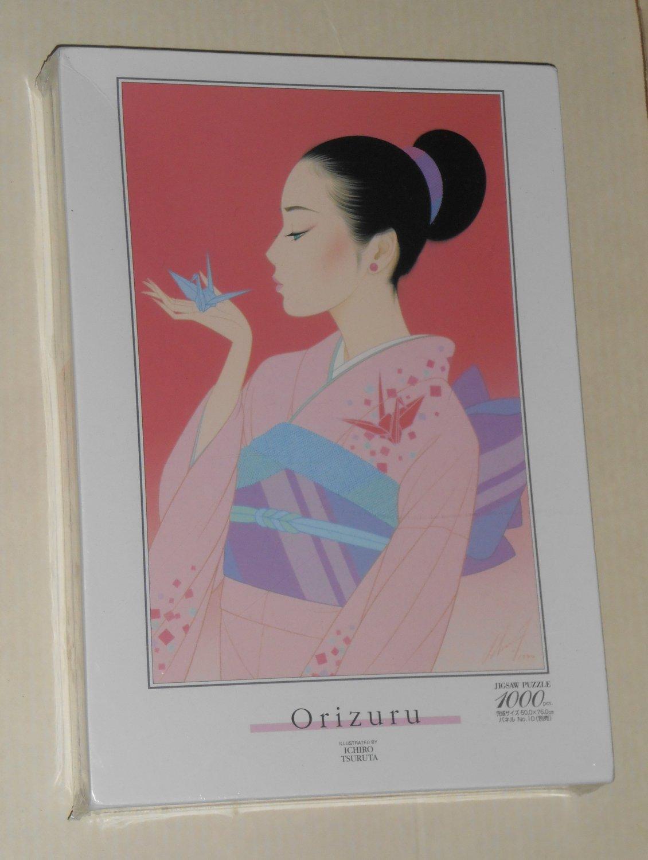 Orizuru Crane Origami 1000 Piece Jigsaw Puzzle Ichiro Tsuruta Central Hobby 14-438 NIB