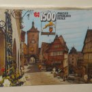 Jumbo Super King Size 1500 Piece Jigsaw Puzzle 1708 Rothenburg ob der Tauber West Germany NIB