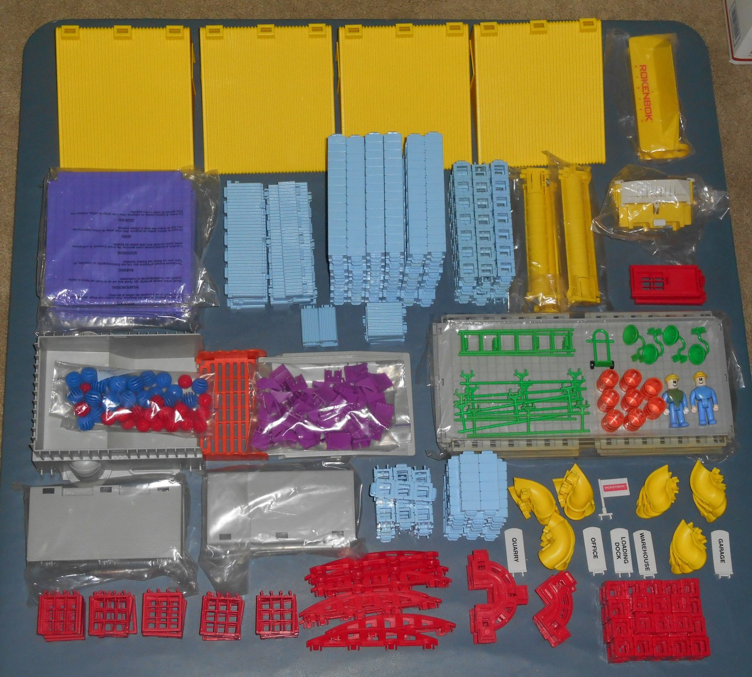 Rokenbok Construction World Building Playset Expandable System 34317 44317