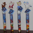 Rudolph the Red-Nosed Reindeer Self Inking Stampers Stamps Santa Bumble Hermey Candy Topper Tube NIP