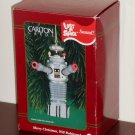 Lost in Space B9 Talking Robot Ornament 71 Merry Christmas Will Robinson Carlton Cards 1999