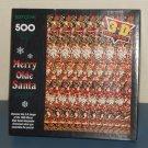 Springbok 500 Piece Jigsaw Puzzle Merry Olde Santa 3D Sensations PZL4506 COMPLETE