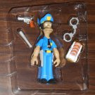 Officer Lou Series 7 WOS Interactive Figure The Simpsons TV Show Playmates World of Springfield