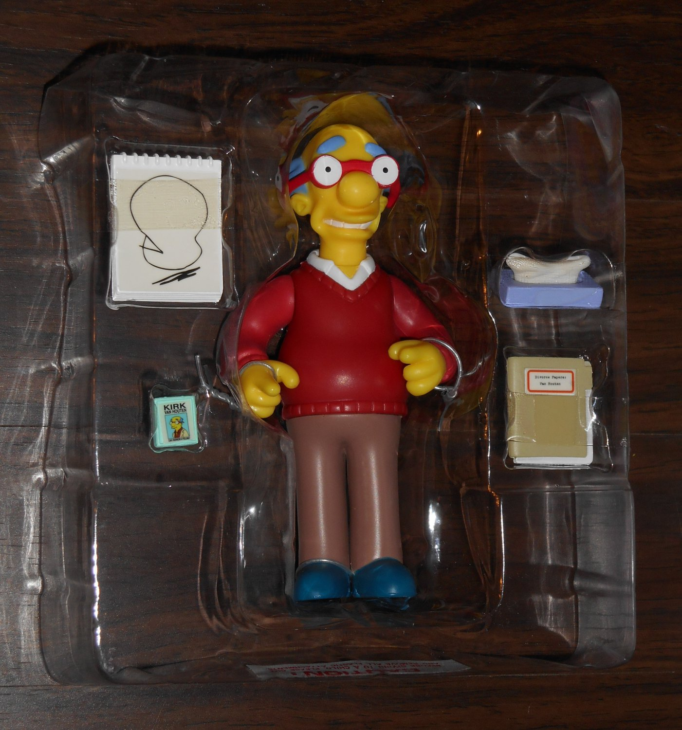 Kirk Van Houten Series 11 WOS Interactive Figure The Simpsons Fox TV Show Playmates Toys