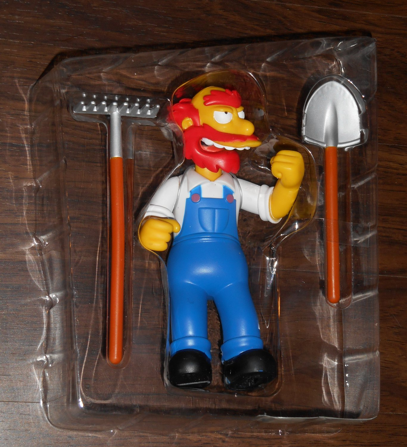 Groundskeeper Willie Series 4 WOS Interactive Figure The Simpsons Fox TV Show Playmates Toys