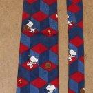 Snoopy Basketball Silk Neck Tie Necktie Best Player on the Block - Peanuts Gang Woodstock