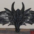 Hardwick Flying Dragon Wall Pediment Resin Plaque Gothic Medieval Halloween Decor