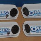 Oreo Oreos Cookies Banana Split Ceramic Bowls Dishes Set 4 Four Ice Cream Kraft