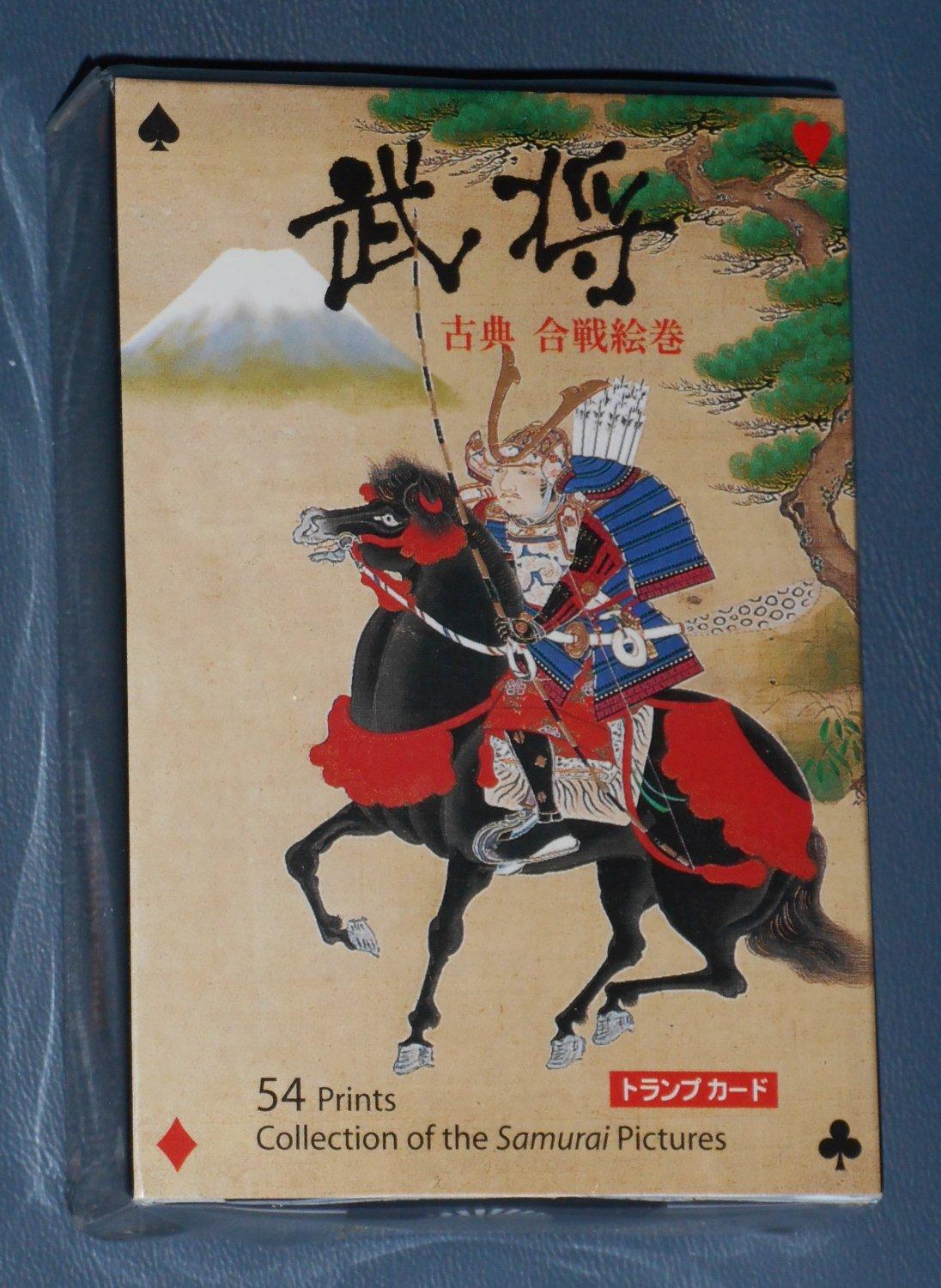 Samurai Classic Warrior Battle Playing Cards Collection 54 Pictures Prints New in Box Fukui Asahido