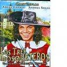 Cantinflas Mario Moreno - Los Tres Mosqueteros DVD