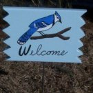 Bluejay Welcome sign
