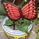 Red Butterfly Plant Poke