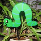 Caterpillar green bug trim Plant Poke