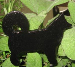 Malamute dog Wood Plant Poke Silhouette black