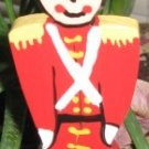 Toy Soldier Wood Plant Poke