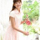 Korea Princess 2pcs dress trim with lace size S/M