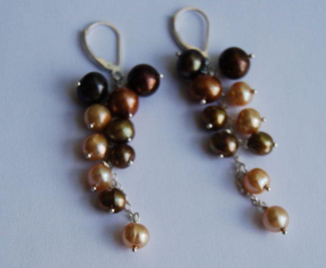 Wine earrings