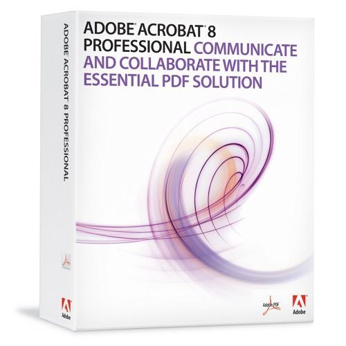 Adobe Acrobat 8 Professional - MAC