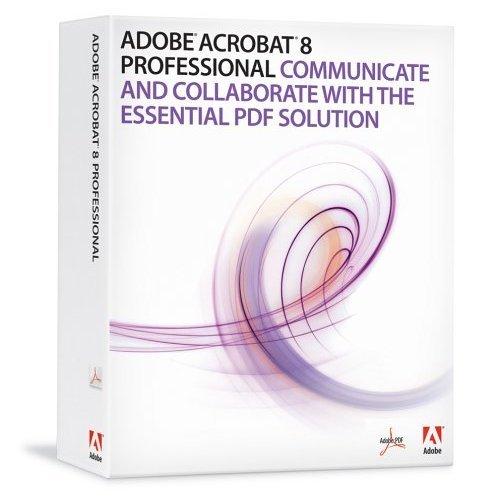 Adobe Acrobat 8 Professional - WINDOWS