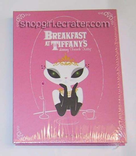 Breakfast at Tiffany's starring French Kitty Correspondence Writing Set