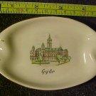 Porcelain China HUNGARIAN GYOR Dish