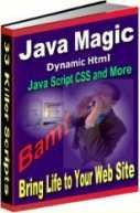 WEBSITE SPECIAL EFFECTS WITH JAVASCRIPT AND DYNAMIC HTML, EASY FOR ANYONE! + HUGE BONUS HTML COURSE