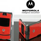 Motorola V3 Razr Red Cellular Phone Unlocked