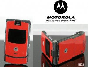 Motorola V3 Razr Red Cellular Phone Unlocked