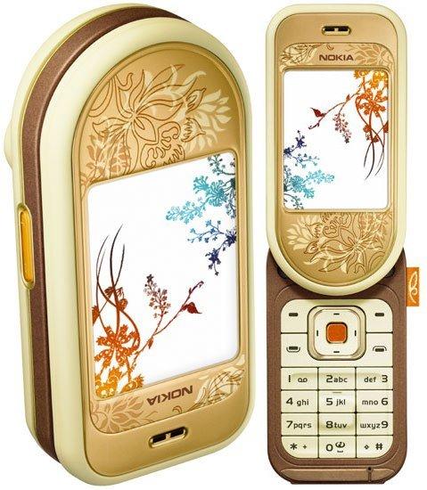 Nokia 7370 Triband GSM World Phone