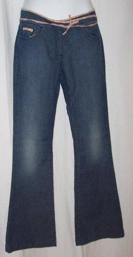 Anthropologie MANOUSH Poirier Flower Trim Jeans S