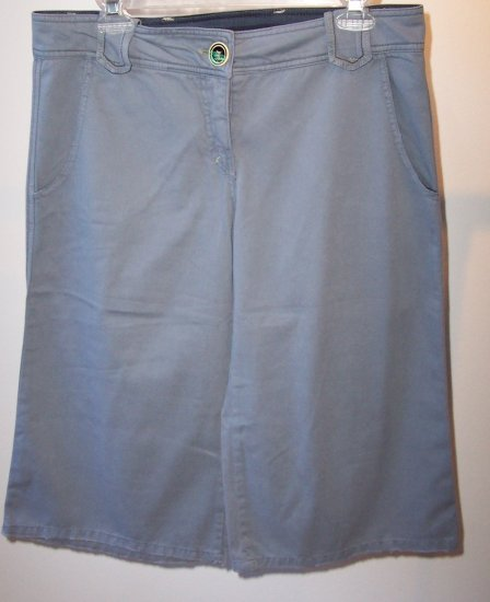 $143 EISBAR Lujan Soft Short Wide Leg Bermudas M anthropologie