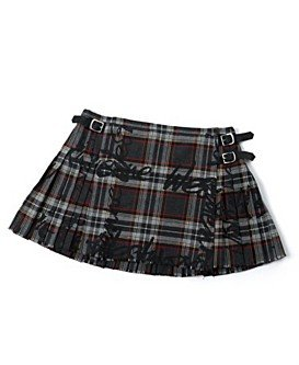 Vivienne Westwood for Nine West Plaid Mini Kilt Skirt NWT M