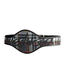 Vivienne Westwood Plaid Leather Wrestler Belt Nine West--L