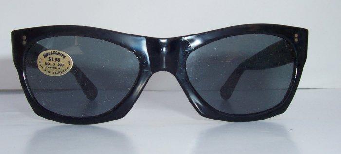 WILLSONITE Retro Vintage Plastic Wayfarer Sunglasses Rare