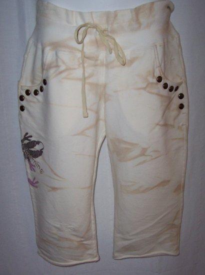 Pinko Sunday Morning Cropped Pant Studded Comfy Short L