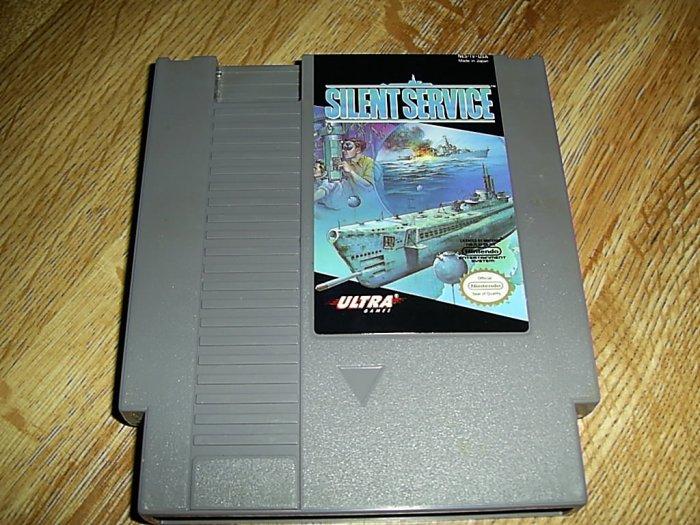 Silent Service Nintendo Game (FREE SHIPPING)