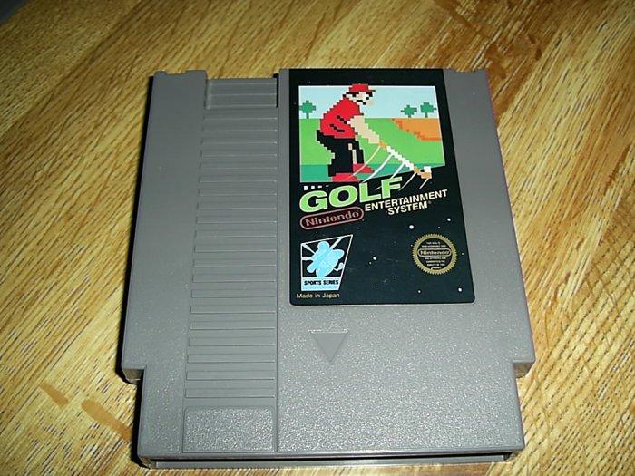 Golf Nintendo Game (FREE SHIPPING)