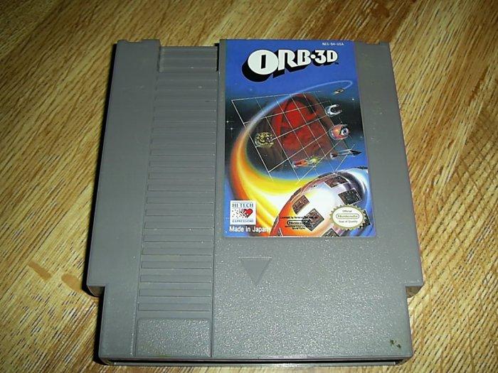 ORB-3D Nintendo Game (FREE SHIPPING)