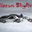 NISSAN SKYLINE CAR  KEYCHAIN & SWIVEL CLIP (FREE SHIPPING)