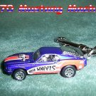 1970 MUSTANG MACH 1 CAR  KEYCHAIN & SWIVEL CLIP (FREE SHIPPING)